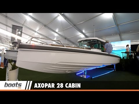 Axopar 28 Cabin: First Look Video
