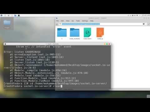 238 Android Studio Chat network JSON NodeJS JavaScript