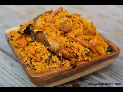 Native Jollof Rice | Iwuk Edesi or Palm oil rice