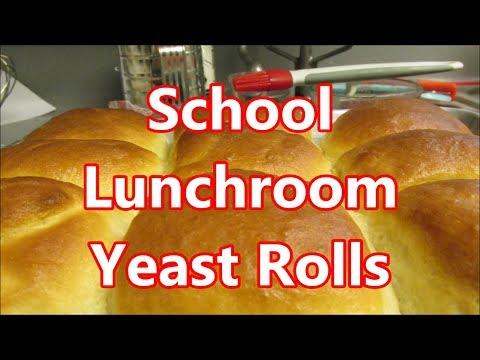 School Cafeteria Yeast Rolls Recipe