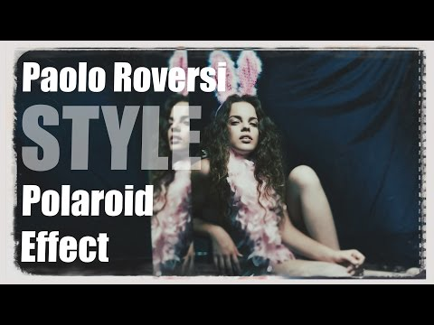 Paolo Roversi Style Polaroid Effect & Creating Realistic Bokeh in Photoshop