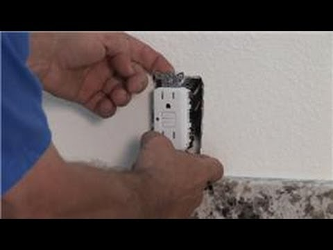 Household Electrical Wiring : How to Replace a GFCI Outlet With Issues