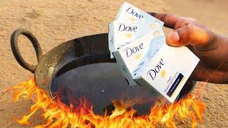 DOVE SOAP VS HOT OIL