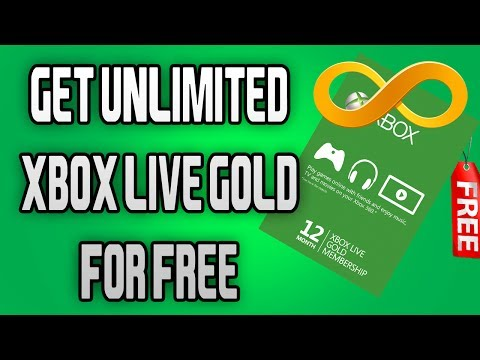 GET FREE UNLIMITED XBOX LIVE GOLD - ''WORKING 2017''