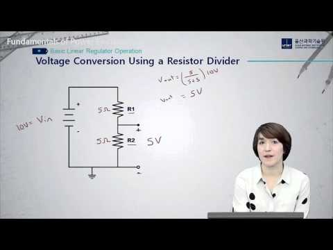 Fundamentals of Power Electronics - Basic Linear Regulator Operation