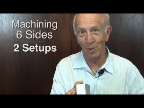 How To Machine and Square 6 Sides of a Block Using Only 2 Setups