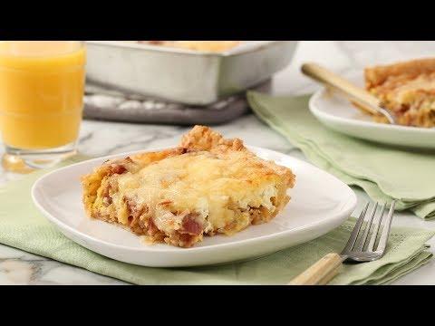 Breakfast Casserole with Bacon- Martha Stewart