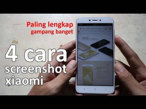 cara screenshot xiaomi handphone android mudah praktis