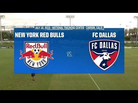 Development Academy Championship - U-15/16: New York Red Bulls vs. FC Dallas - July 18, 2015