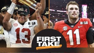 Did Alabama win it or did Georgia lose it? First Take makes their picks | First Take | ESPN
