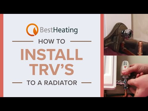 How to Install TRV's to a Radiator