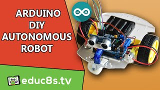 Obstacle And Edge Detector Robot Arduino MP3