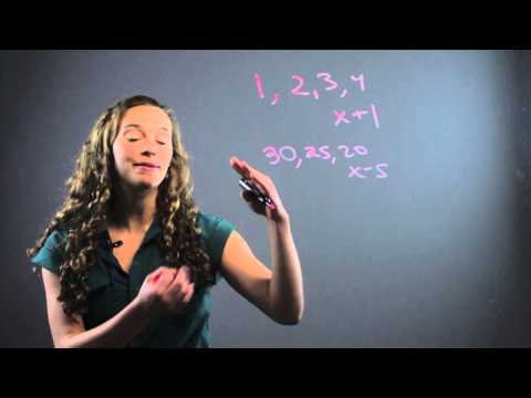 How to Find Patterns for Middle School Math : Fun With Math
