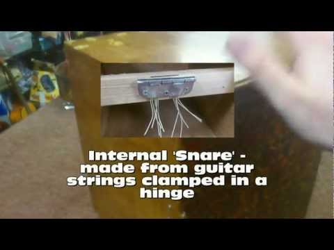 mrjonthehat - Make an ELECTRIC Cajon Box Drum (HD)