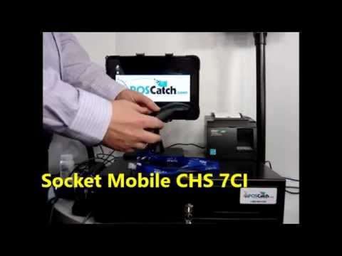 Socket Mobile CHS 7CI, Wireless Bluetooth Mobile Barcode Scanner/Reader (Ideal for iPad, iPhone)