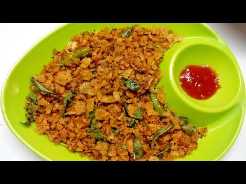 Tuesday Morning Breakfast & Lunch Routine|Left Over Chapathi Recipe in tamil|Chapathi Poha