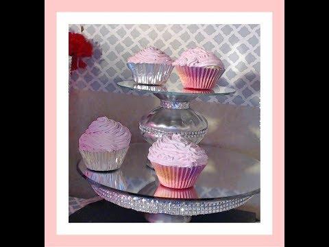 Display Cupcakes, fake diy, tutorial, 1st attempt