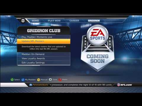 Madden NFL 13 | How to get Roster Updates