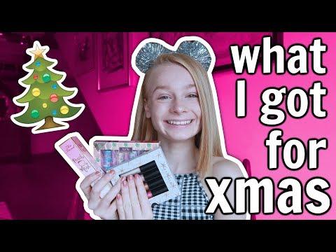 What I Got For Christmas 2018 Haul! 🎄 *Tarte, Too Faced + more*