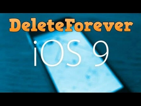 How to Permanently delete photos in iOS 9 -9.3.3 CYDIA 2017