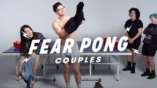 Couples Play Fear Pong (Karl & Micaila vs. Melissa & Adolfo) | Fear Pong | Cut