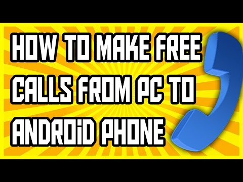 How To Make Free Calls From Pc To Phone 2016