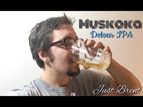 Muskoka Detour IPA Review | Just Brent