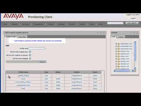 How to Configure Call Forward Service on an Avaya AS5300