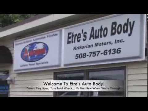 Auto Body Shops | Welcome | Etre's Auto Body | Worcester, MA | 508-757-6136