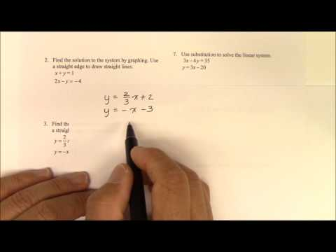 IH 013 Part 1 Solving Linear System by Combination