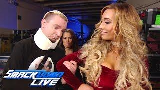 Why Carmella finds James Ellsworth so appealing: SmackDown LIVE Wild Card Finals, Dec. 27, 2016