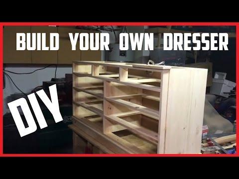 How To Build A Dresser | DIY Instructions