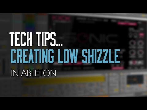 Creating Low Techno Drum Shizzle in Ableton