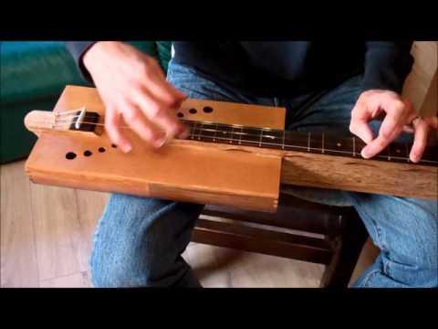 Cigar Box Mountain Dulcimer (our first) - Rough Cut Guitars
