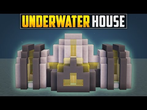 Minecraft: How To Build An Underwater House Tutorial