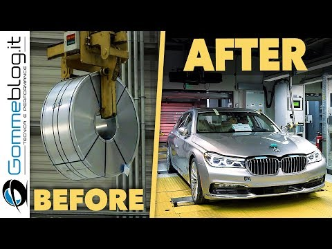2018 BMW 7 Series Car Factory - Production Manufacturing Assembly Line