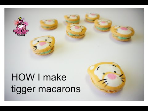 HOW I make Tigger macarons