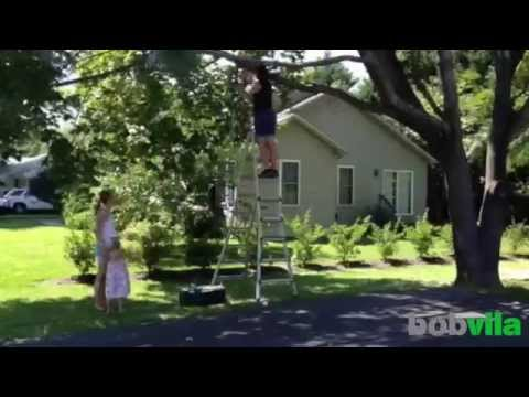 DIY Kids: Build a Backyard Tire Swing
