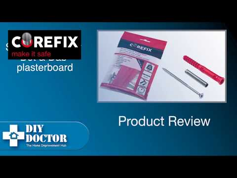 Corefix dot and dab plasterboard fixings