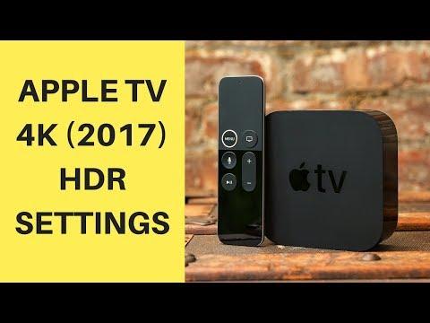 Apple TV 4K Setup and 4K HDR Settings