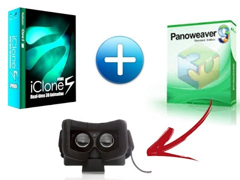 How to create VR image with iClone5+PanoWeaver @3Dstreaming.org