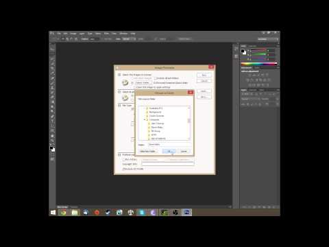 Converting RAW Photo Files To JPG Photo Files Using Photoshop CS6 - Play3r