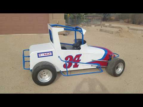 Custom Mini Race Car / Sprint Car Go Kart for sale - $6,595
