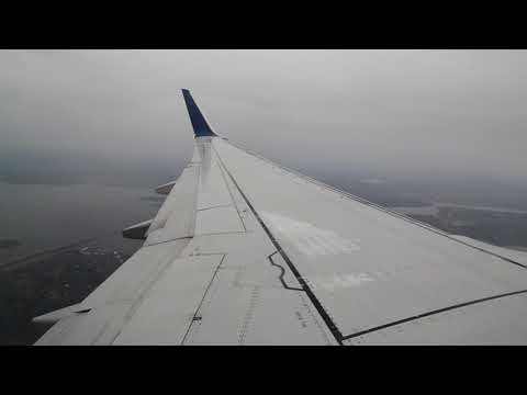 [HD 1080p]   Delta 737-800   Sunrise Takeoff Boston   Landing Seattle