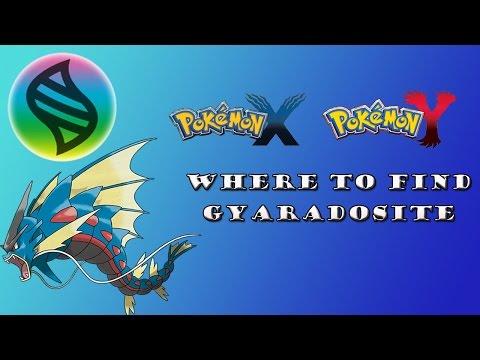 Mega Stone Location: Where to Find Gyaradosite in Pokemon X and Y: Get Mega Gyarados!