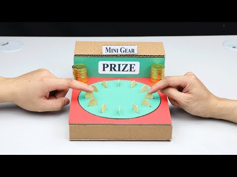 How to Make Amazing Random Challenge Game from Cardboard