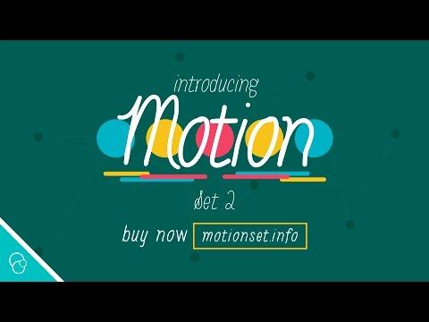 Introducing Motion Set 2 (4K) - Motion Background