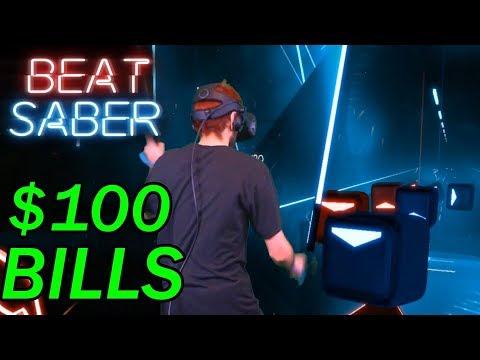 Beat Saber - $100 Bills PERFECT COMBO!