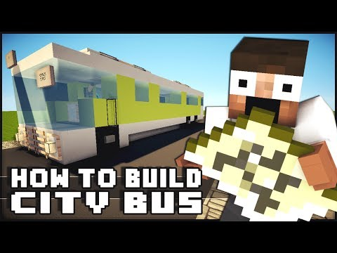 ► Minecraft : How to Make - Bus