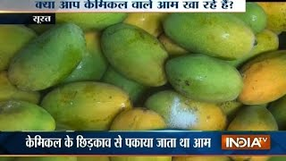 Chemical Used to Ripe Mangoes in Surat, 22 Quintal Mangoes Seized